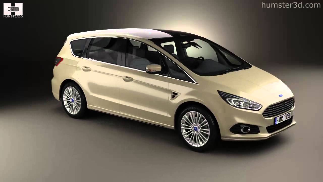 ford s max 2015 by 3d model store youtube. Black Bedroom Furniture Sets. Home Design Ideas