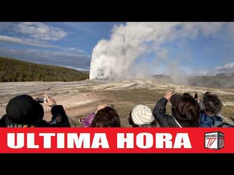 La fuente termal de Yellowstone entra en erupción por cuarta vez en 60 años