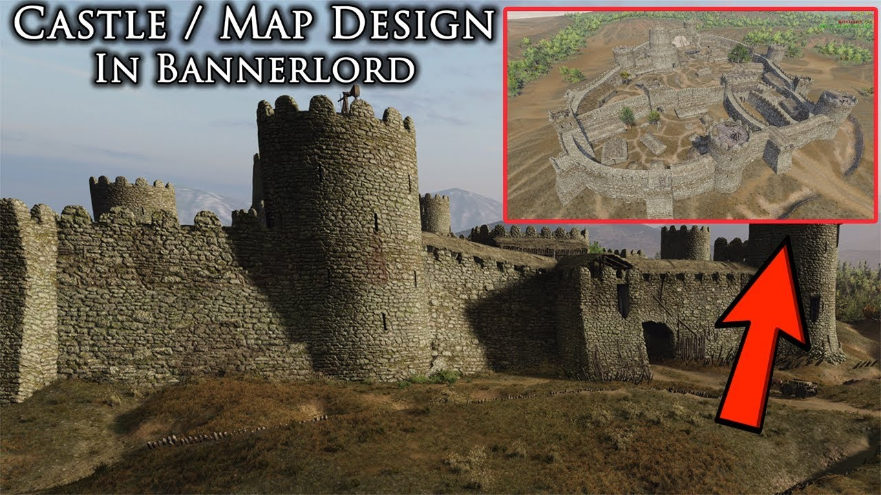 new bannerlord castle upgrade systemmap design mount and blade 2 banneerlord