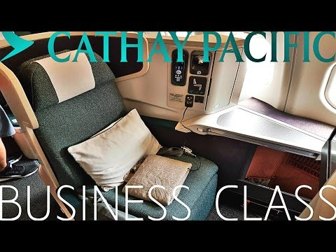Cathay Pacific BUSINESS CLASS Bangkok to Hong Kong|A330