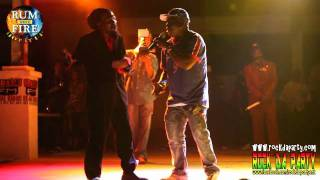 Junior Reid & Barrington Levy (LIVE)- Rum Fire Hot It Up 2012