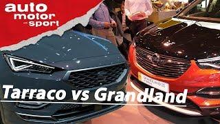 IAA 2019: Opel Grandland X vs Seat Tarraco - PHEV SUV im Vergleich I auto motor und sport