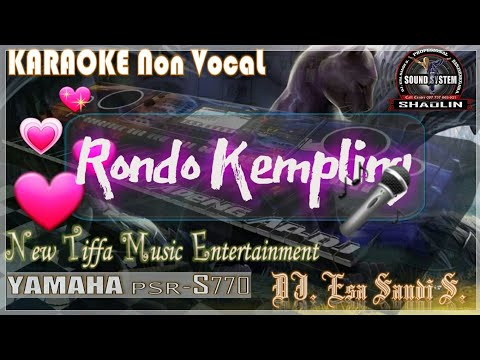 KARAOKE Rondho Kempling-Manthous-Yamaha PSR-S770 (Tiffa Music)