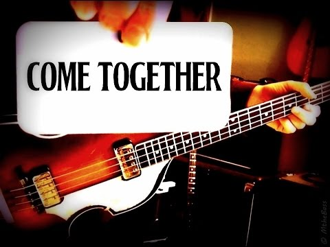THE BEATLES - COME TOGETHER - PAUL McCARTNEY - BASS LESSON/SONG BREAKDOWN/LESSON - HOFNER