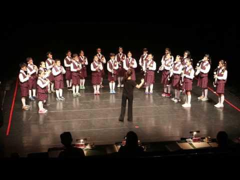 嘉義縣鹿草國小直笛隊參加105學年度音樂比賽-直笛演奏-榮獲優等