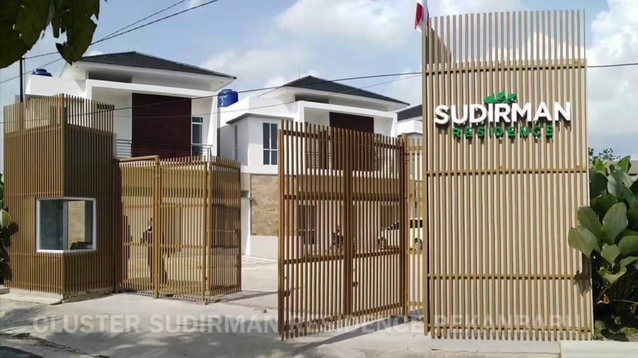 Jual Rumah Cluster di Sudirman Pekanbaru - YouTube