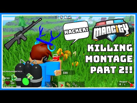 ⭐Mad City Killing Montage Part 2!!⭐🔫 {ROBLOX}