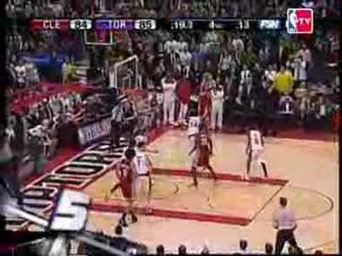 NBA Top 10 Plays Season 2006-2007