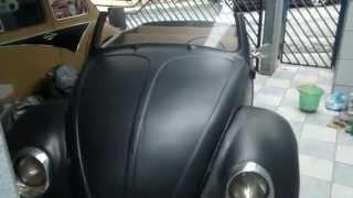 vw fusca ratlook volksrod conversivel retrotech vw beetle convertible hebmuller