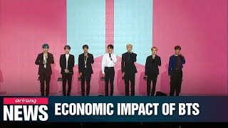 'Walking Conglomerate' BTS and their impact on Korean economy