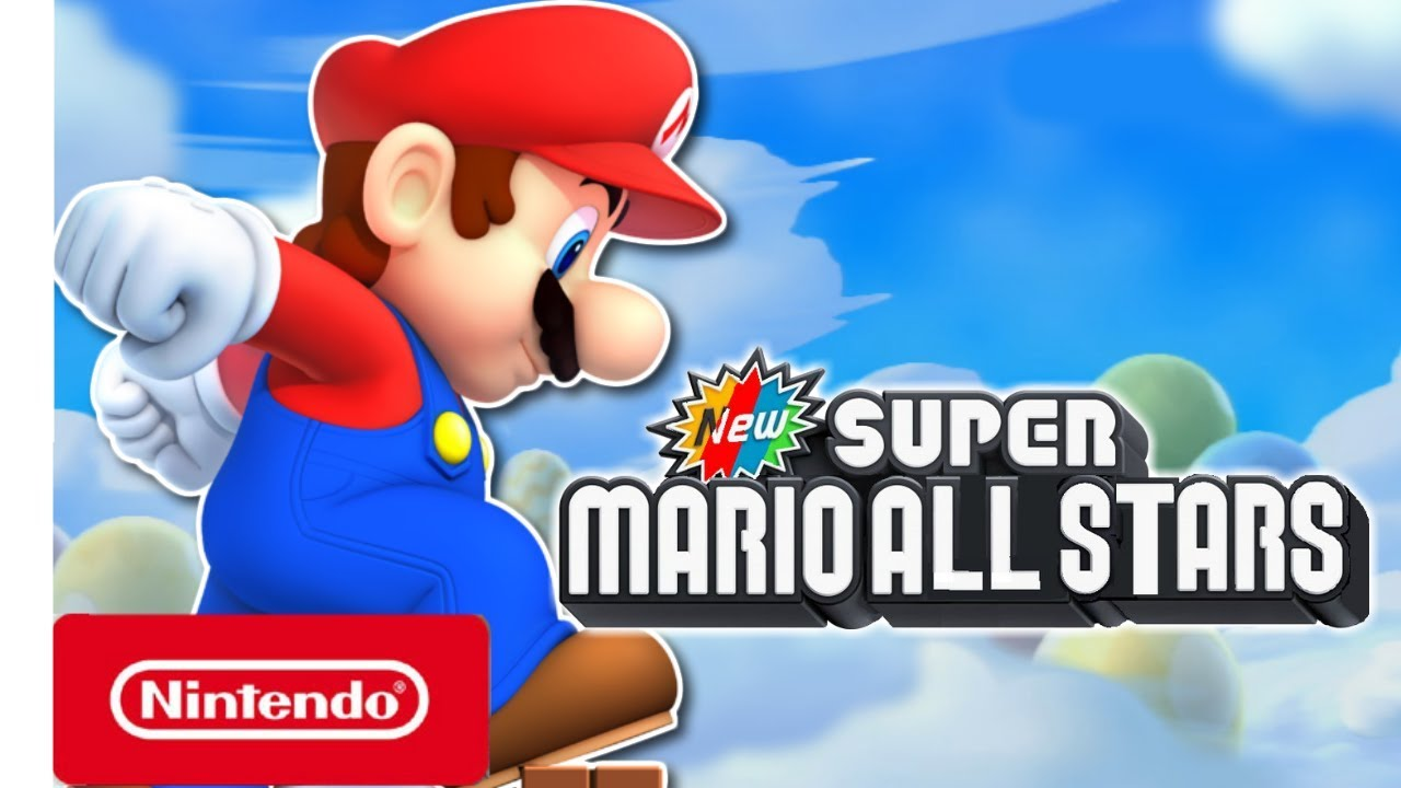 New Super Mario All Stars Collection Trailer Nintendo Switch Fan Made Youtube
