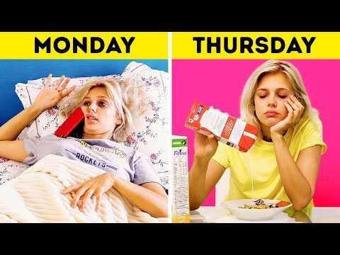 MORNING ROUTINE    EXPECTATION VS REALITY