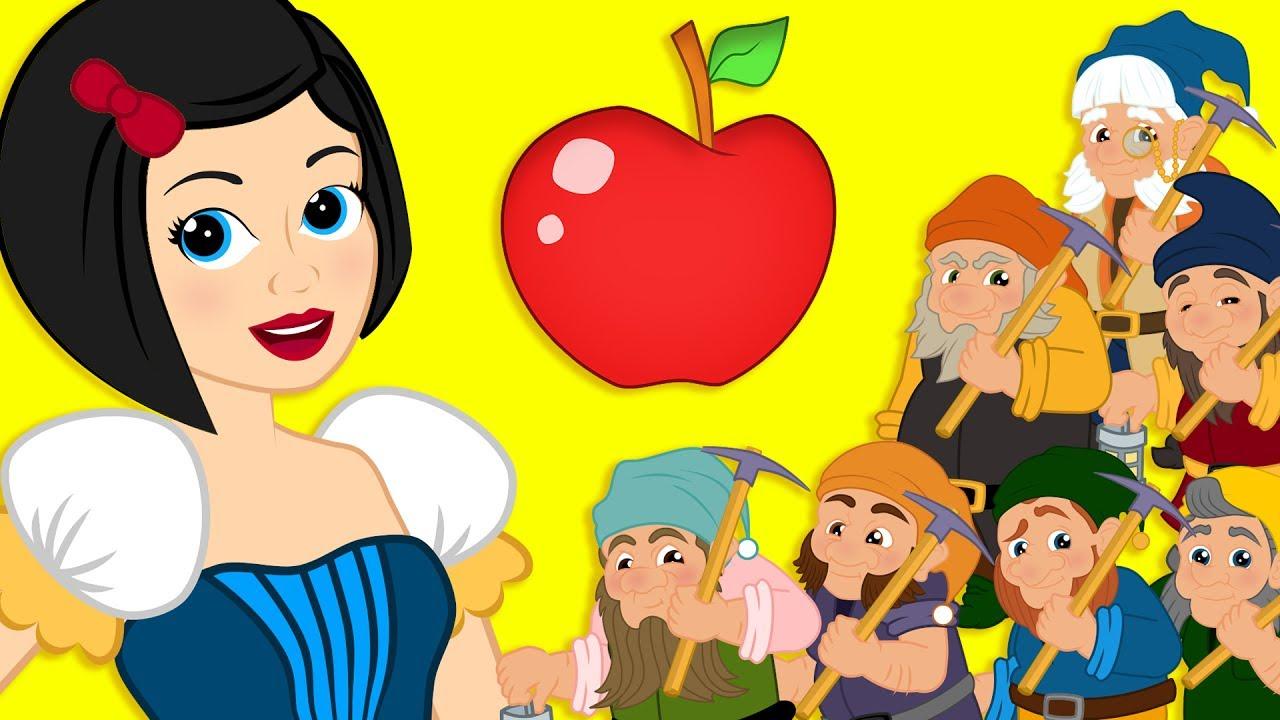 Blancanieves Y Los Siete Enanitos Cuento Infantil Y Dibujar Princesa