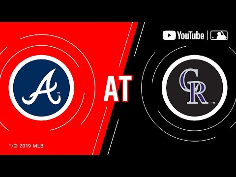 Braves At Rockies | MLB Game Of The Week Live On YouTube