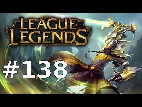 League of Legends Let's Play LoL Deutsch Part 138 - Hybrid Yi rockt | German Gameplay