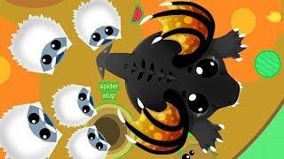Новая Сходка в игре Мопио Схватка Йети против Черного Дракона Моуп ио Mope io