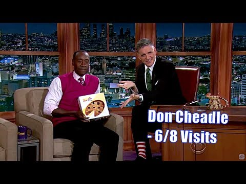 Don Cheadle - Gets Craig A Pie From House Of Pies - 6/8 Visits In Chron. Order