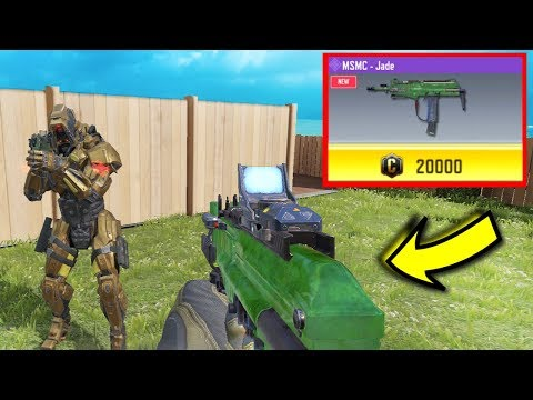 "*NEW* 20,000 Credit Gun ""MSMC JADE"" In COD Mobile! 