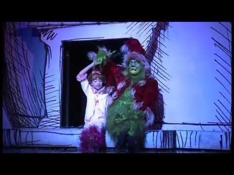 """Cindy Lou & """"Santa"""" from The Grinch Who Stole Christmas"""