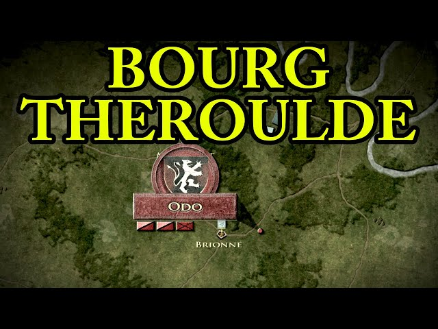 The Battle of Bourgtheroulde 1124 AD