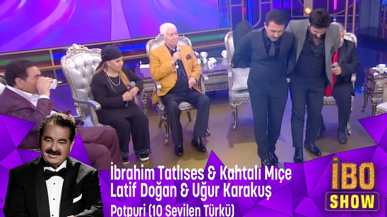 İ.Tatlıses,K.Mıçe,L.Doğan,U.Karakuş'tan Potpori Eşarbını Yan Bağlama,Erbedaş,Arguvanlım,Toycular