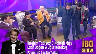 İ.Tatlıses,K.Mıçe,L.Doğan,U.Karakuş'tan Potpori Eşarbını Yan Bağlama,Erbedaş,Arguvanlım,Toycular mp3 indir