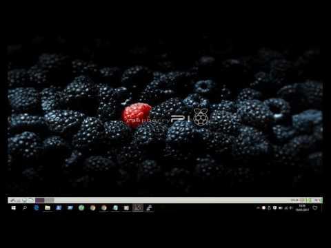 Raspberry Pi GUI Xming 2017