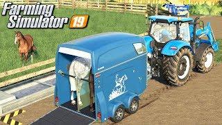 Sprzedaż koni - Farming Simulator 19 | #28