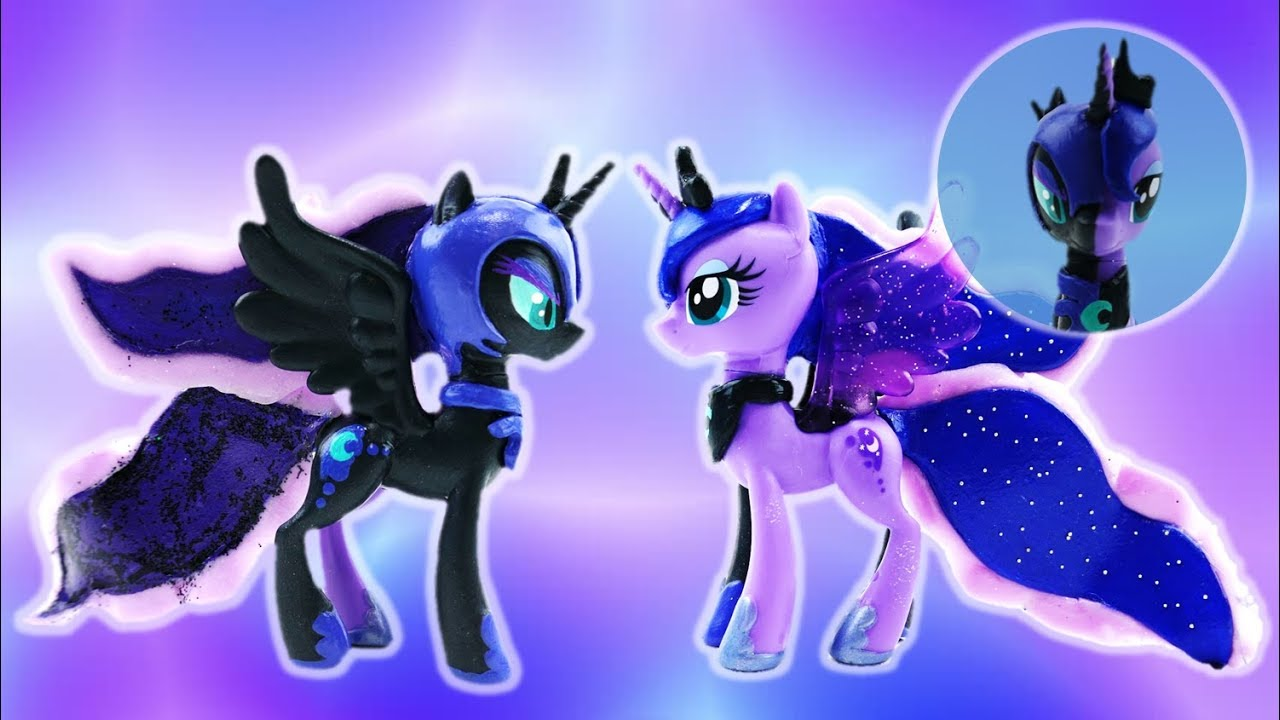 princess luna and nightmare moon transformation split my little pony