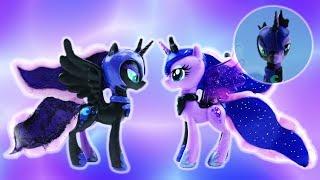 Princess Luna and Nightmare Moon Transformation Split My Little Pony Custom