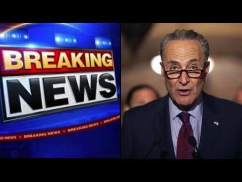 """CHUCK  SCHUMER SETS ULTIMATUM TO STOP CALLING TRUMP A """"RACIST"""" THIS IS UNBELIEVABLE!"""