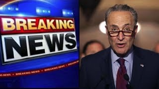 "CHUCK  SCHUMER SETS ULTIMATUM TO STOP CALLING TRUMP A ""RACIST"" THIS IS UNBELIEVABLE!"