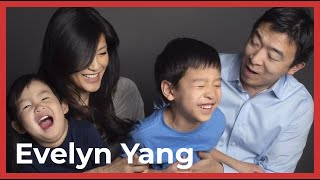 Who is Andrew Yang-Part 4  Evelyn Yang