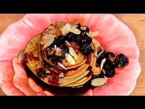 how-to-make-oat-bran-pancakes-:-healthy-breakfast-items