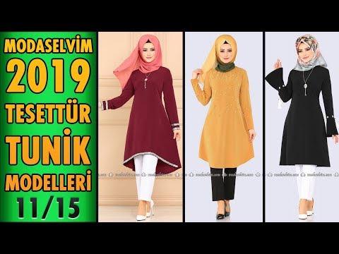 #Modaselvim 2019 Tesettür Tunik Modelleri 11/15 | #Hijab #Tunic | #tesettür #tunik