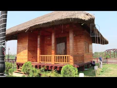 Artists Cottage in Eco park, Kolkata