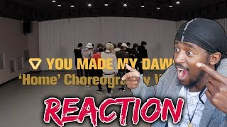 DANCER REACTS TO SEVENTEEN Home Dance Practise | [Choreography Video] SEVENTEEN(세븐틴) - Home REACTION