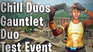 🔴 Duo Gauntlet Test Event   15yr Old Eu Player!   Fortnite Battle Royale