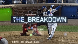 David Bote's Walk-off Grand Slam | The Breakdown
