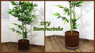 DIY- Vaso e Bambuzinho de uma maneira muito fácil e rápida
