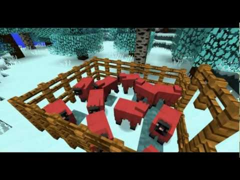 Minecraft: Christmas Island Part 7 - Sheep Farm
