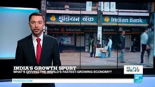 India's growth spurt: What's driving the world's fastest-growing economy?
