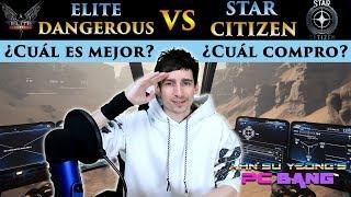 Elite Dangerous Vs Star Citizen ¿Qué juego es mejor? ¿Cuál debería comprar?