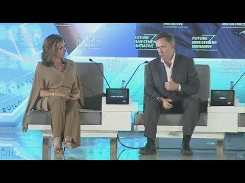 DAY3 - In conversation: Peter Thiel interviewed by Maria Bartiromo