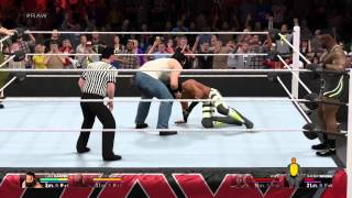 WWE 2K15 - RAW - The Wyatt Family Vs New Day