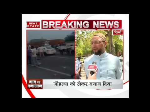 Asaduddin Owaisi to oppose Bhagwat's demand of legal ban on Cow Slaughtering across the country