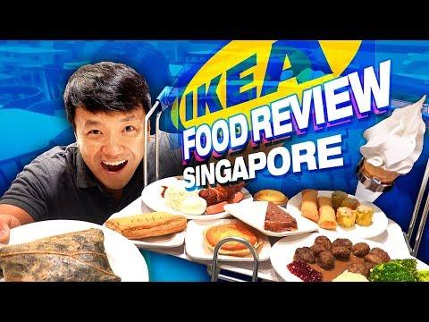 Brunch in Singapore IKEA   FRIED CHICKEN, Nasi Lemak & BEST Dessert!