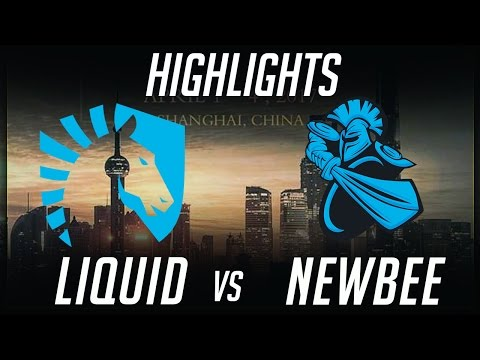 EPIC Liquid vs NewBee DAC 2017 Highlights Dota 2 by Time 2 Dota #dota2