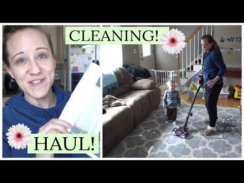 SPRING TJ MAXX HAUL!  CLEANING THINGS I NEVER CLEAN!  REAL MOMMY LIFE   Mommy Etc