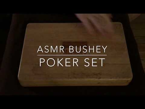 ASMR - Tapping on a Poker Set